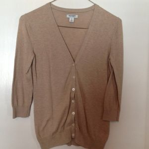 Old Navy Tan Cardigan