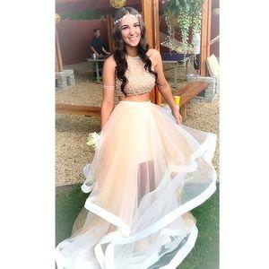 Terani Couture Prom Dress Pink