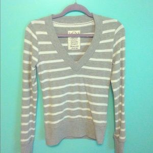 Poof! V-neck sweater