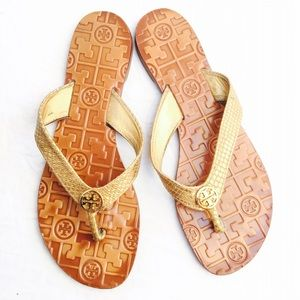 Tory Burch authentic thong sandals Sz 8
