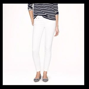 J. Crew Denim - 🚫SOLD 🚫J. Crew Toothpick White Denim