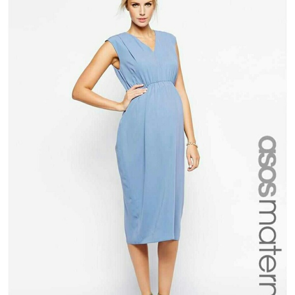 ASOS - Final Price* ASOS Light Blue maternity dress from Tabitha's ...