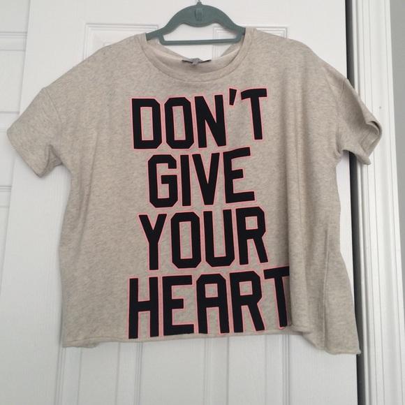 Zara Crewneck Graphic Trafaluc Poshmark Tshirt Tops qwAUrq