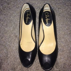 Cole Haan Nike Air Peep Toe Pumps