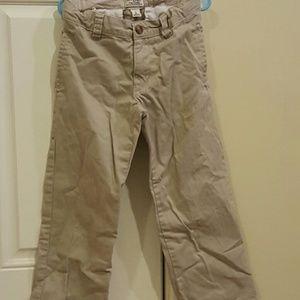Pants - Size 6 Boys Khaki Uniform Pants (2 available )