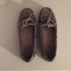 Sperry Top-Sider Shoes - BRAND NEW pewter sperrys