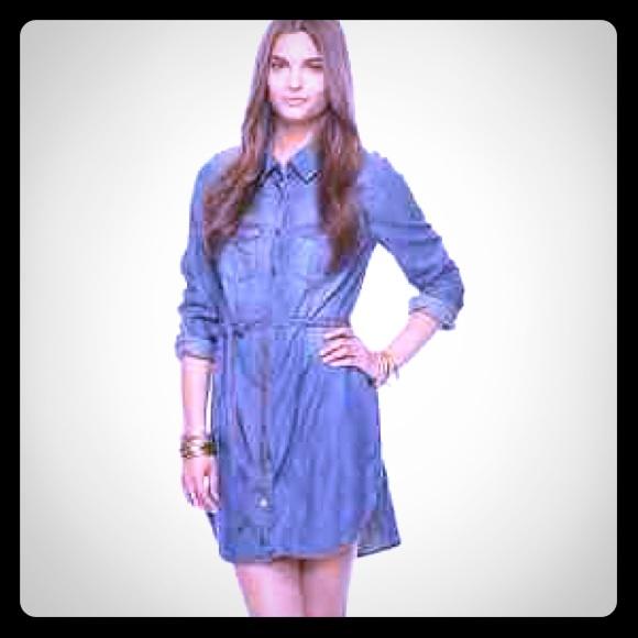 9aa71575fc Forever 21 Dresses   Skirts - 🌸Belted Denim Shirt ~ Life In Progress🌸