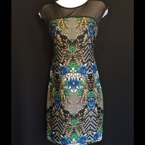 Dresses & Skirts - 👗FINAL PRICE👗NWOT sexy fit print dress