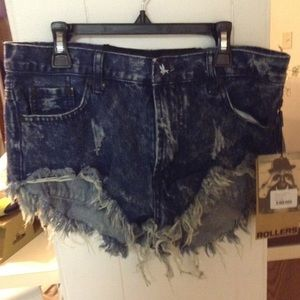 One Teaspoon Shorts Size 23 One Teaspoon Rollers