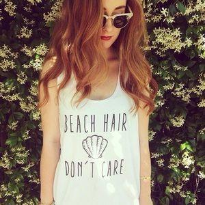 American Apparel Tops - NWOT: Beach Hair Don't Care Loose Tank