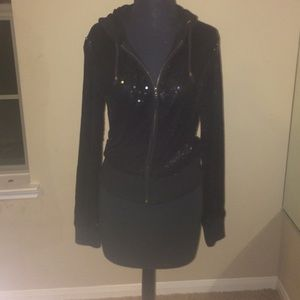 Forever 21 Jackets & Blazers - Sequined hoodie