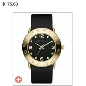 Marc Jacobs Gold and Black Watch