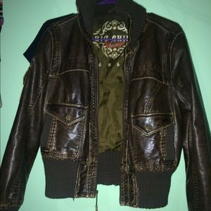 66 clothes by revue jackets blazers faux leather