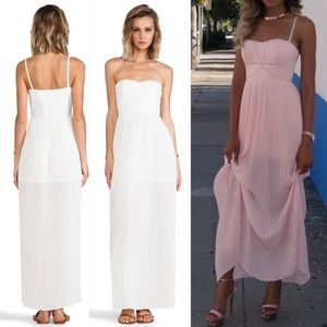 NWT Blaque Label White Maxi Dress
