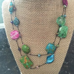 Accessories - Long Beaded Necklace