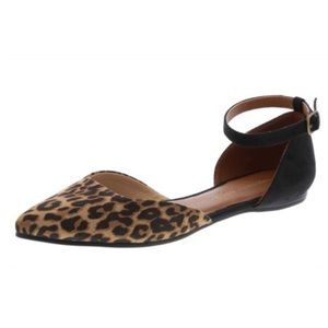 Christian Siriano Shoes - Leopard Pointy Toe Flat