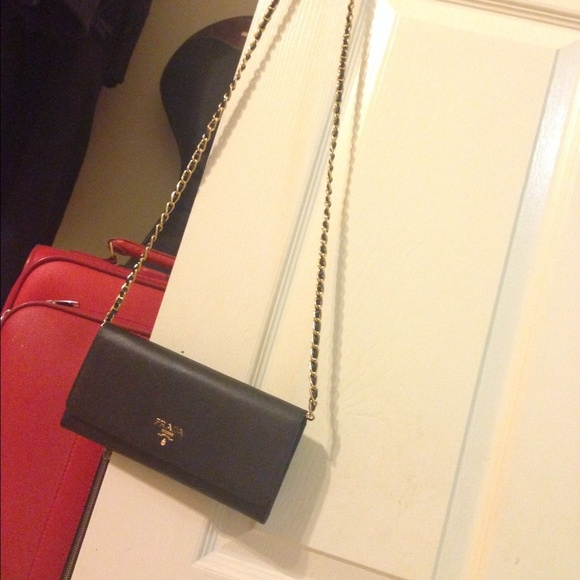 8c5d3798509b Prada Bags   Chain Wallet Black   Poshmark
