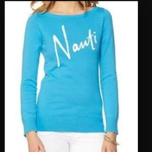 "Lilly Pulitzer Tops - ⚡️1HR SALE⚡️Lilly Pulitzer ""Nauti"" Sweater"