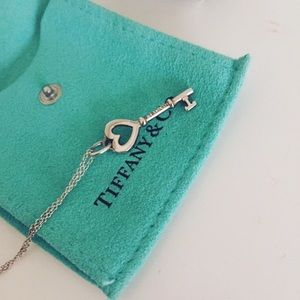Tiffany heart key