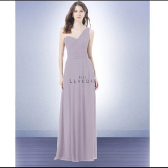 67c794c8bb Bill Levkoff Violet Chiffon Bridesmaid Dress