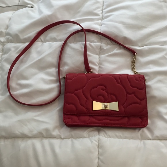 56% off kate spade Handbags - Red quilted Kate Spade cross body ... : kate spade red quilted bag - Adamdwight.com