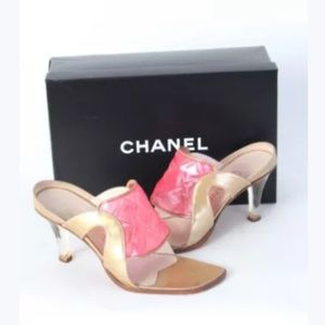 Chanel mules size 37, worn 1x, excellent condition