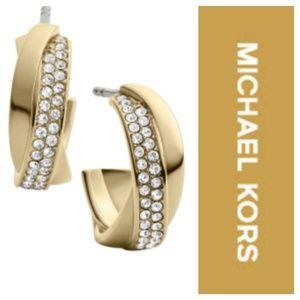 Michael Kors Double Hoop Earrings