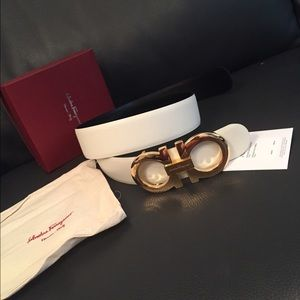 44% off Salvatore Ferragamo Accessories - Reversible ...