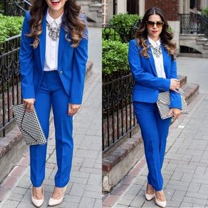 Zara Pants - Zara Cobalt blue trousers