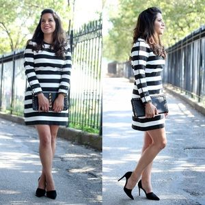 Zara Dresses & Skirts - Zara black and white dress