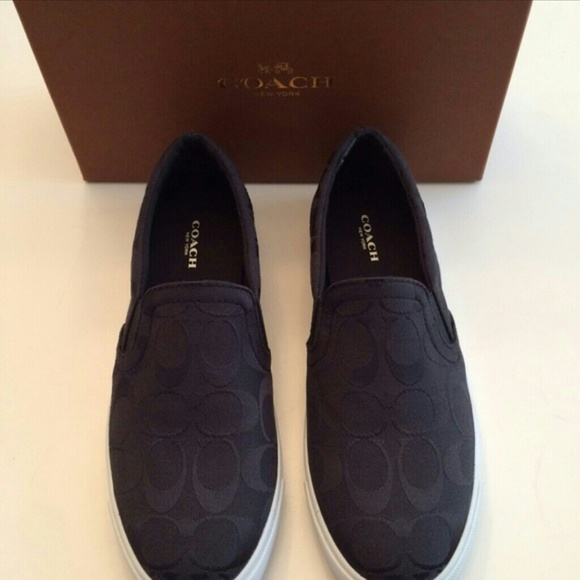 Coach Slip-ons - black