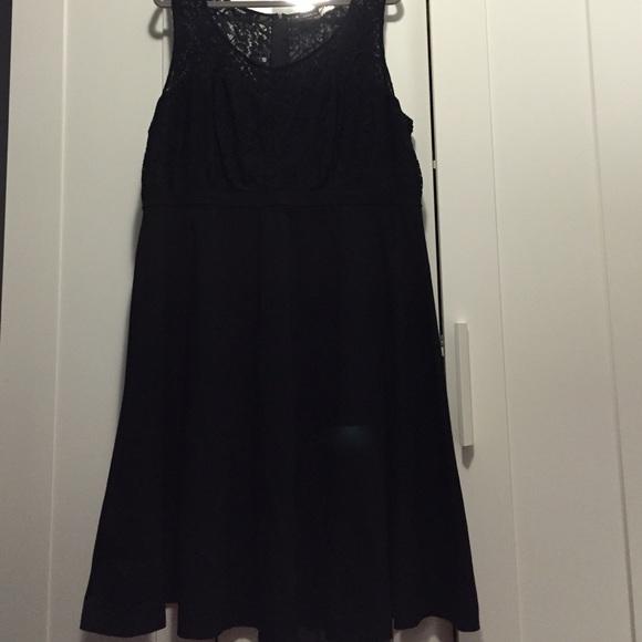 64 off torrid dresses amp skirts torrid black knee length dress from