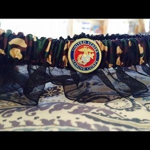 0f9aa47f150 David s Bridal Accessories - Marine corps bride bridal garter belt