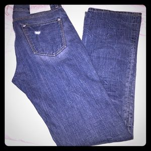 NEVER WORN- Loomstate denim boot cut size 31