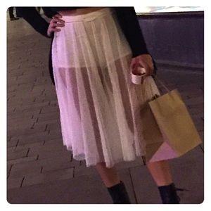 Free People alabaster skirt/short