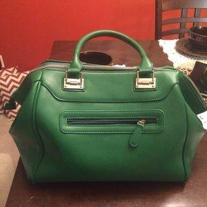 Handbags - Green bowler style purse
