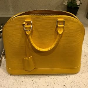 Louis Vuitton Alma PM ( Citron)