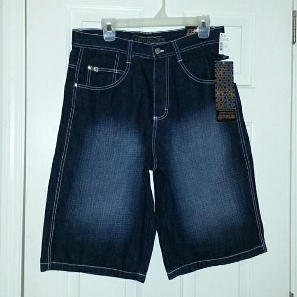 25% off South Pole Denim - Dark Sand Blue Jean shorts from ...
