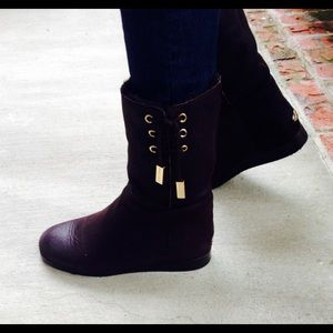 "SOLD JIMMY CHOO DILLA Ankle ""UGG"" like Boots💕"