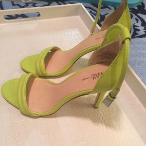 Prabal Gurung Shoes - Prabal Gurung for Target Neon sandal pumps 7.5