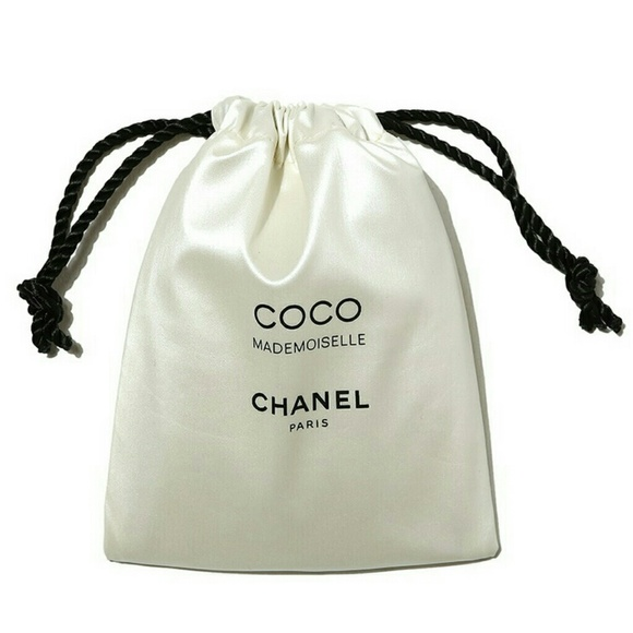 80% off CHANEL Accessories - Chanel Paris Satin drawstring Mini ...