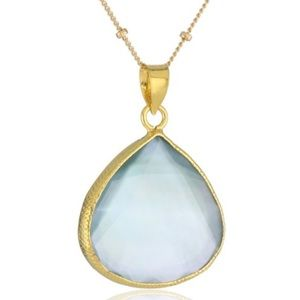 Coralia Leets Mother-Of-Pearl Doublets Necklace