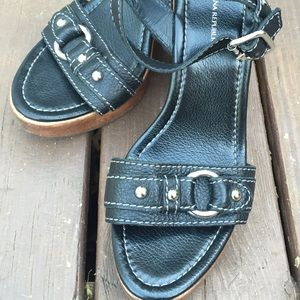 Banana Republic Shoes - Like new wedge sandle
