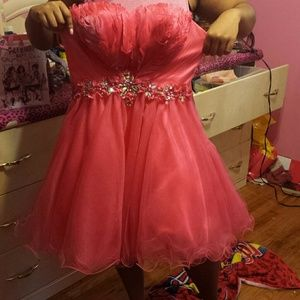 Pink homecoming Dress