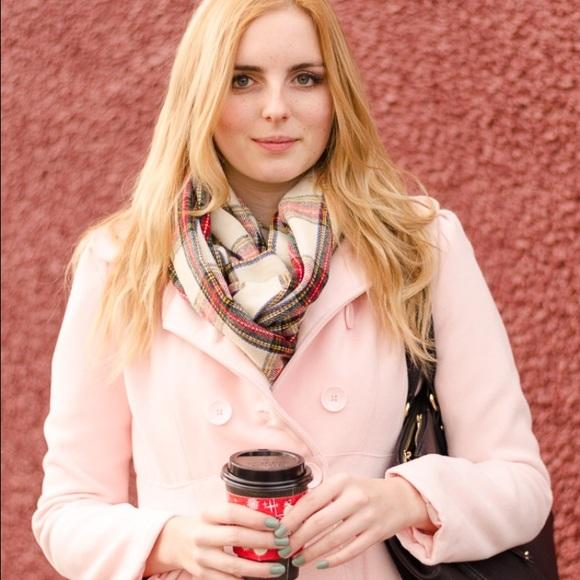 74% off Xhilaration Jackets & Blazers - Xhilaration pink flared ...