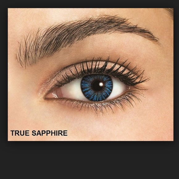 freshlook other sale true sapphire color contacts poshmark