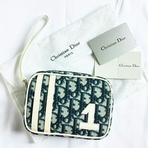 CHRISTIAN DIOR Trotter Wristlet or Pouch