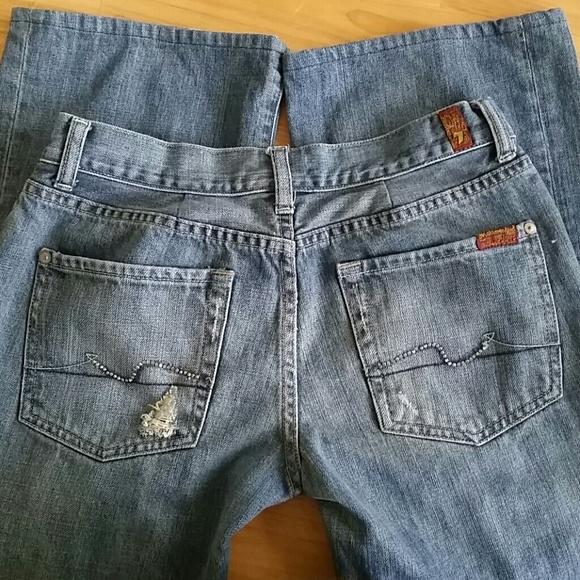 Flare Bling Flare Jeans W/pocket Bling