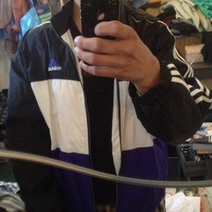 90's Color block Track Jacket by Adidas