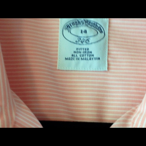 81 off brooks brothers tops brooks brothers no iron for Best no iron shirts